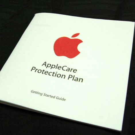 หน้าตา applecare getting start guide