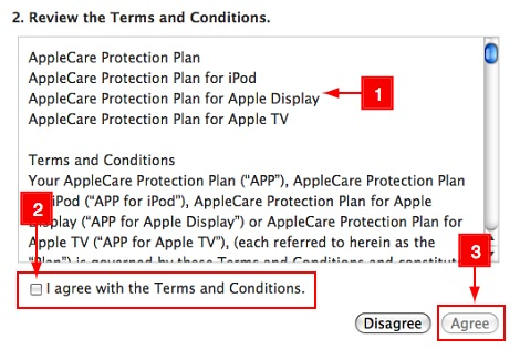 ข้อตกลง applecare for macbook pro