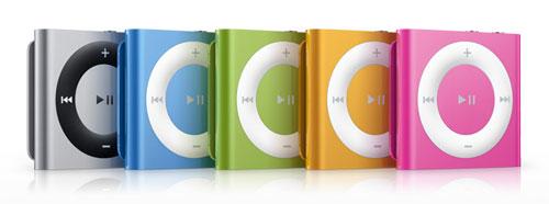 iPod shuffle ใหม่ sep 2010