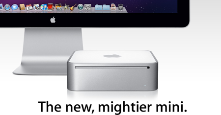 new mac mini 2009