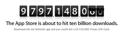 mac app store ยอดดาวน์โหลด 1 พันล้าน