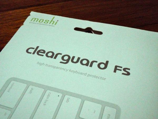 ภาพระยะใกล้ ซอง moshi clearguard fs