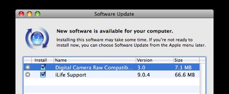 Digital Camera Raw update กับ Aperture 3 slideshow support update