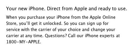 คำยืนยันเกี่ยวกับ iPhone 4 ใน apple online store singapore