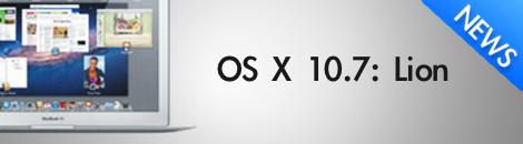 OS X Lion เปิดตัว