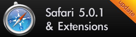 update safari 5.0.1 ใหม่พร้อม extensions